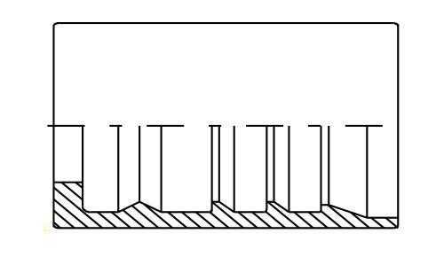 Ghiera Interlock per tubo 4SH