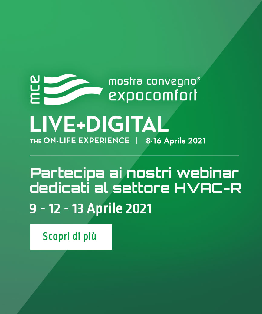 Partecipa a MCE LIVE+DIGITAL