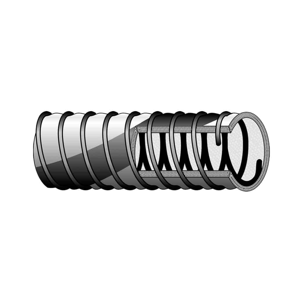 Tubo tipo DH 33 - PER GAS LIQUIDI A BASSA E BASSISSIMA TEMPERATURA Tubi in materiale composito